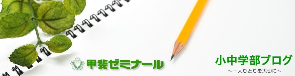 甲斐ゼミのブログ|小中学部|長野